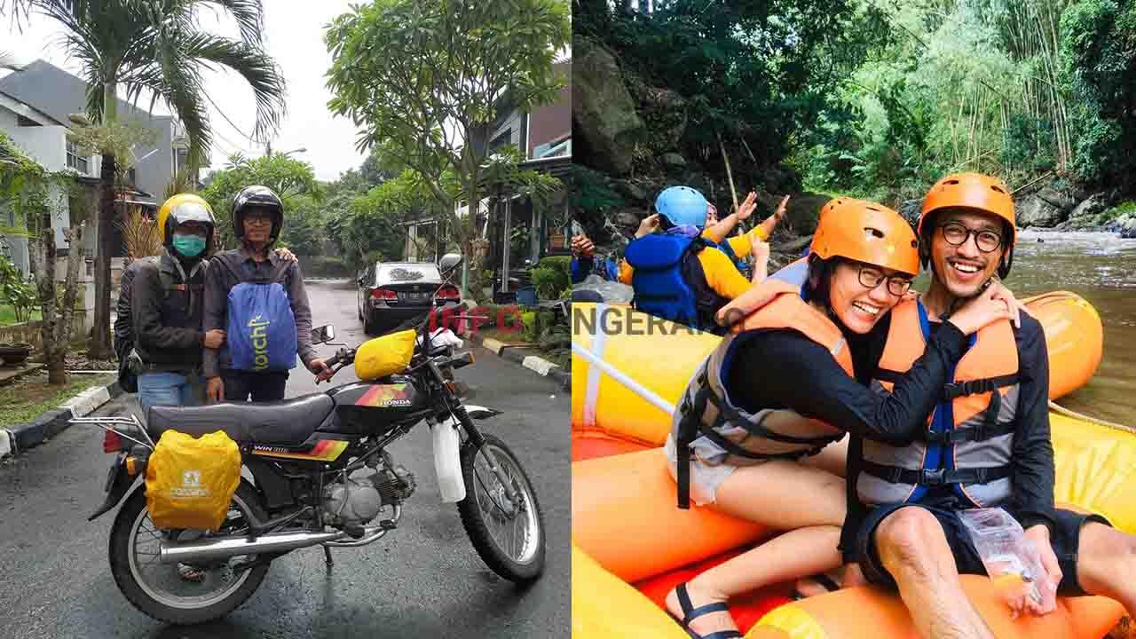 Pasangan Asal Tangerang Nikah 9 Juta Bulan Madu Ke Bali Pakai Motor