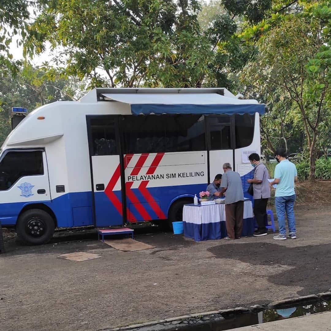 Cara Perpanjang SIM di Pelayanan SIM keliling Tangerang