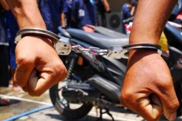 Jadi Ranmor, Pasutri di Pasar Kemis Ditangkap Polisi