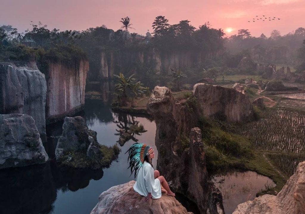 Harga Tiket Masuk Wisata Alam Tebing Koja, Mirip Kandang Godzilla